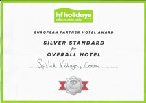 HF Holidays Award