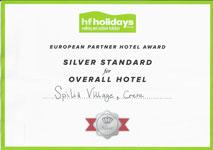 HF Holidays Award
